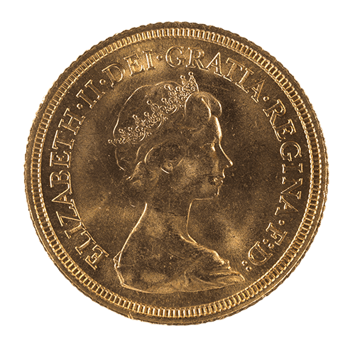 You could spend a gold sovereign if you wanted to, but with a value of only £1 it would be unwise