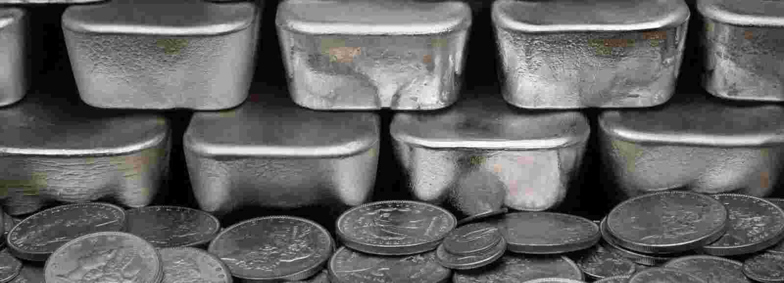 combined bars and coins for effective silver investment