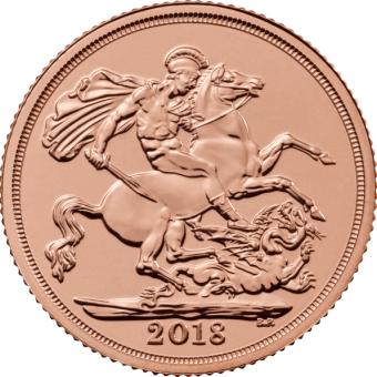2018 Gold Sovereign