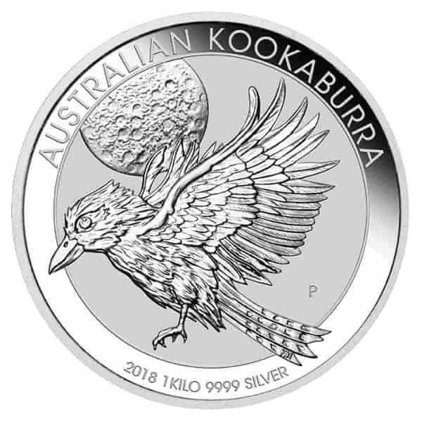 1KG Silver Kookaburra