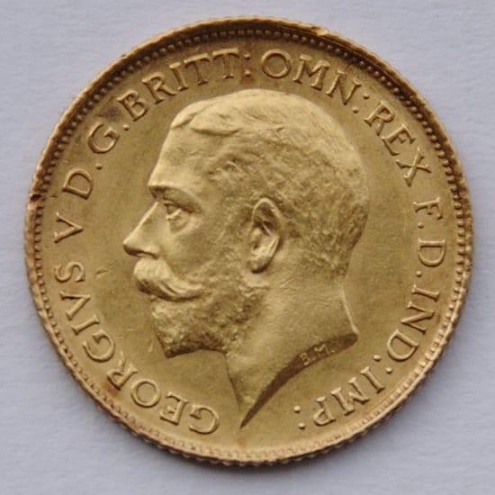 Gold Sovereign coin value