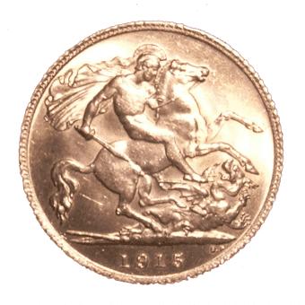 half sovereign gold